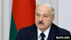 Александър Лукашенко на 27 август