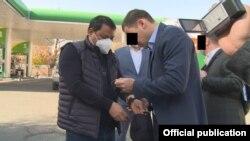 Kyrgyzstan - Raiymbek Matraimov, Ex-Deputy of the State Customs Service. The ex-deputy of the State Customs Service Raiymbek Matraimov was detained. Bishkek, Kyrgyzstan 20 October, 2020