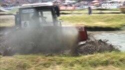 Трактор грязи не боится: как гоняют российские фермеры