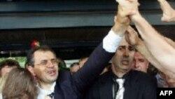 Doček u Zagrebu, Tihomir Blaških po povratku iz Haga kolovoza 2004. godne.