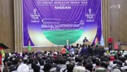 جام جهانی کریکت ۲۰۱۹ در هرات به نمایش گذاشت شد