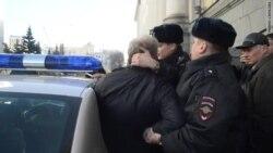 Задержание Сергея Митрохина