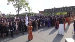 يريفان تحيي الذكرى المئوية لمذابح ابادة الارمن