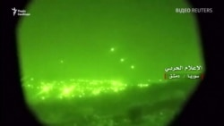Ізраїль завдав удару по півдню Сирії у відповідь на обстріл із боку іранських військових (відео)