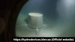 Работа водолазов на глубине