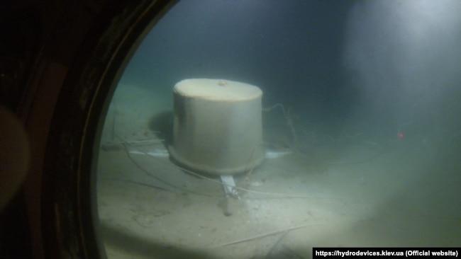 Модуль «Олімп» на дні Чорного моря