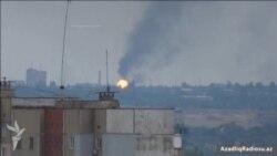 Ukraynanın Donetsk şəhərinə endirilən artileriya zərbələri