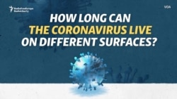 How Long Can The Coronavirus Live On Different Surfaces?