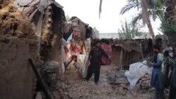 بلوچستان زلزله: هرنايي کې له یوه کوره درې جنازې ووتې
