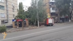Fighting On The Streets Of Donetsk