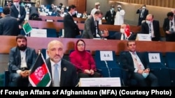 حنیف اتمر وزیر خارجه افغانستان