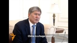 Kyrgyz President Pushes For Trans-Asia Railway
