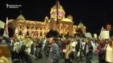 Serbs Protest On Anniversary Of Controversial Demolitions