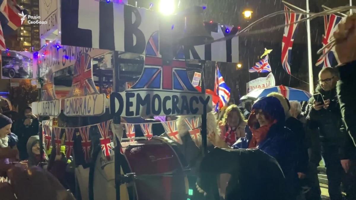 Сторонники «Брекзиту» ликуют на улицах Лондона – видео