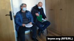Євген Куцарев на суді у Херсоні, 19 лютого 2021 року