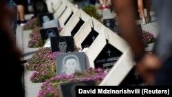 Гробище на грузински войници, убити по време на войната през 2008 г.