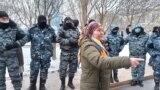 Kazakhstan - Nur-Sultan mothers/women protest