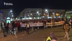 Opt săptămâni de proteste în Muntenegru