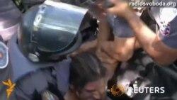 Кубок світу: поліція Сан-Паулу сльозогінним газом розганяла демонстрантів