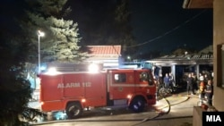 Пожарът е избухнал около 9 часа вечерта в сряда в болница в Тетово.
