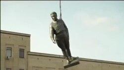 У Кіровограді демонтували пам'ятник Кірову