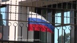 Taraba din fața ambasadei