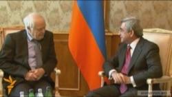 Համարբերգը հանդիպել է ՀՀ նախագահին