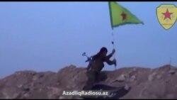 Kürdlər Kobani yaxınlığında bir neçə mövqeni ələ keçiriblər