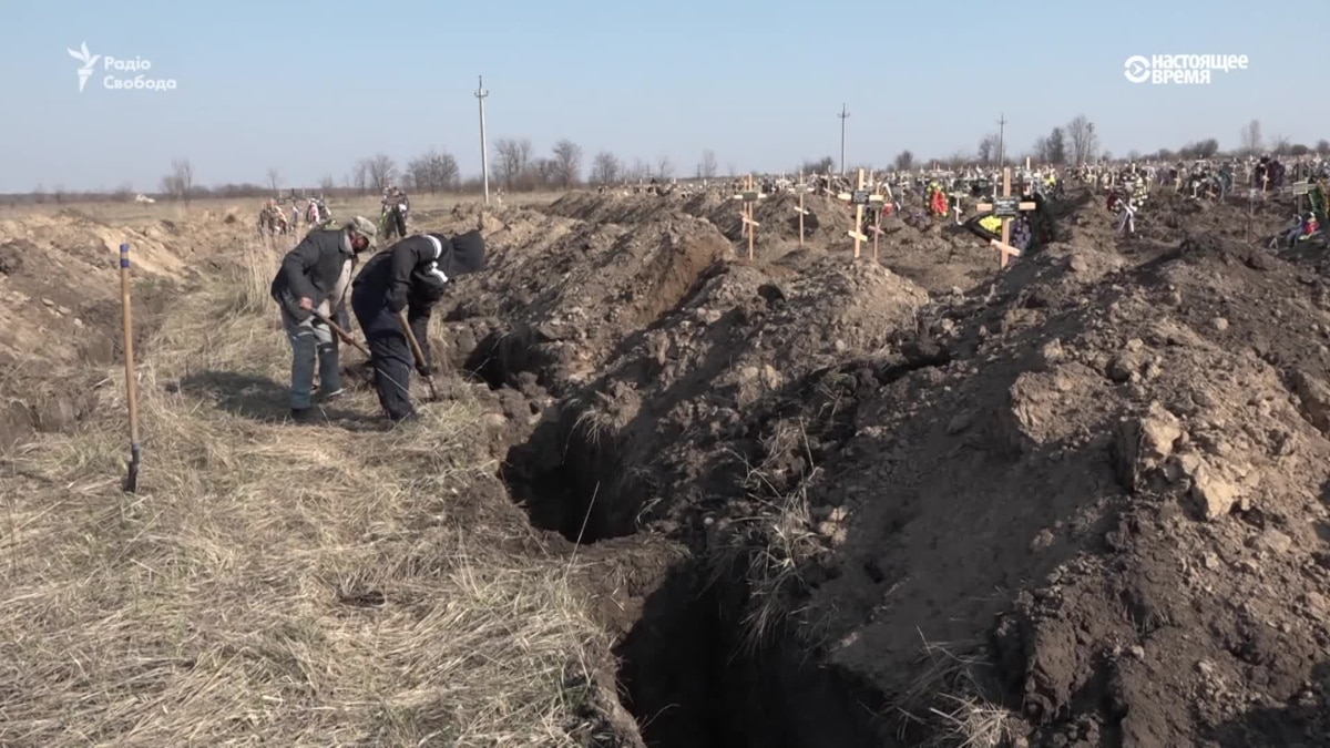 В Днепре для предупреждения выкопали 600 могил для возможных жертв коронавирус – видео