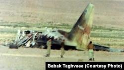 تصویری از لاشه هواپیمای سانحهدیده سی-۱۳۰