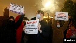 Протесты против фальсификаций на выборах в Москве