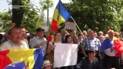 Hundreds Protest In Moldova Against Electoral System Change