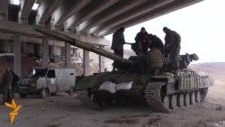 Украина. Бой за село Пески