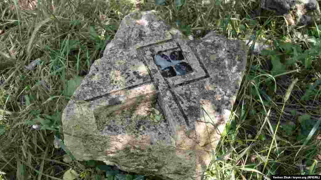 Этот камень с мозаикой был частью Мавританского домика