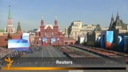 Putin, Medvedev Attend Victory Day Parade