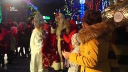 Діти із зони АТО приїхали на різдвяні канікули до Дніпропетровська