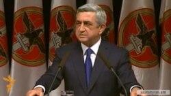 Серж Саргсян выдвинут кандидатом в президенты