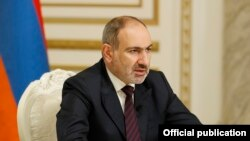 Armenia -- Amenian Prime Minister Nikol Pashinian addresses the nation, Yerevan, November 14, 2020.