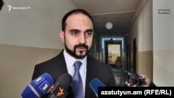 Acting Deputy Prime Minister Tigran Avinian
