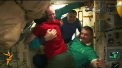 Astronaut And Cosmonauts Leave ISS