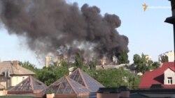 Пожежа в районі Києва: як від склянки згорів дах