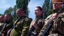 Бійці «Карпатської Січі» склали присягу й влились до складу Збройних Сил України