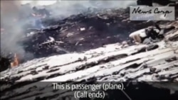 Newly Released Video Shows Aftermath Of MH17 Downing