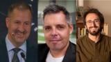 (l-r) Andres Ilves, Kiryl Sukhotski, Patrick Boehler