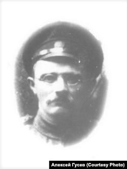 Иван Смирнов в армии. Томск. 1916 г.