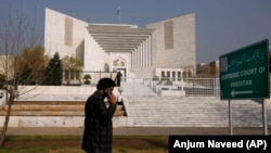 The Supreme Court building in Islamabad.