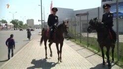 Конная полиция Астаны