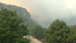 Грузия в огне