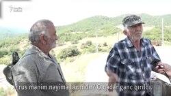 Erməni kəndlilər rus sərhədçilərinin gəlişindən narahat olub: 'Torpağı versələr...'