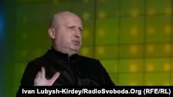 Олександр Турчинов: «Не знаю, як Зеленський міг у його (Путіна – КР) «очах побачити мир», там тільки кров»